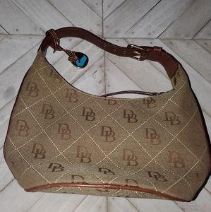 Dooney & Bourke  Brown And Tan Handbag